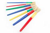 Paint brushes isolated on white. — Stock Photo