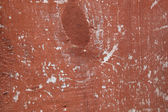 Wood with chipped red paint. Grunge style background — Photo