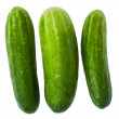 Green cucumbers — Stock Photo