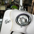 Old polish scooter Osa — Stock Photo