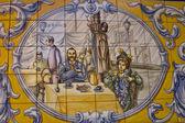 Talavera Ceramics, Tile panel — Stock Photo