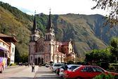 Basilica of Santa Maria la Real de Covadonga, Asturias — Stock Photo