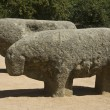 Bulls Guisando, sculpture Veton — Stock Photo
