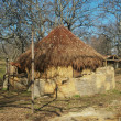 Hut for livestock in La Vera, Extremadura, Spain — 图库照片