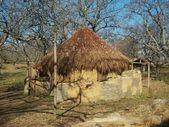 Hut for livestock in La Vera, Extremadura, Spain — Stock Photo