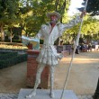 Quixote in gardens of Prado, Talavera — Stock Photo #11870629