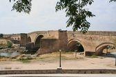 Bridge, the Cardinal Tenorio, Puente del Arzobispo, Toledo — Stock Photo