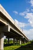 Elevated express way — Stockfoto