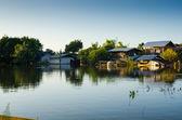 House flooded — Stock Photo