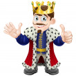 Royalty-Free Stock Vector Image: Cartoon King Mascot