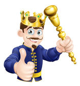 Cartoon King — Stock Vector