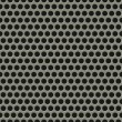 Royalty-Free Stock Imagen vectorial: Seamless tiling metal grill pattern