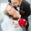 Whispered the promise of the bride — Stock Photo