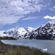 Stock Photo: Portage Glacier in Alaska