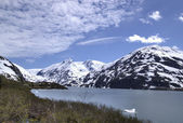 Portage Glacier in Alaska — Stock Photo