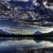 Kenai Lake at sunset — Stock Photo