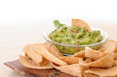 Guacamole snack — Stock Photo