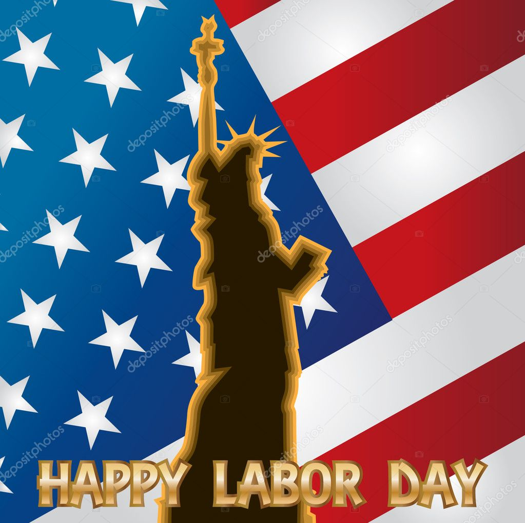 Happy labor day - illustration — Stock Vector #10802862