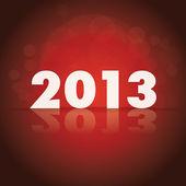 Tema de 2013 — Vector de stock