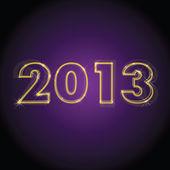 2013 year — Stock Vector