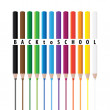 Drawing color pencils — Stock Photo #12035638
