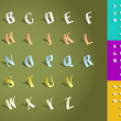 Set of alphabet fonts — Stock Photo #12035675