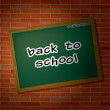 Back to school theme — Stock Photo