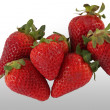 Stock Photo: Ecological strawberries