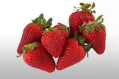 Ecological strawberries — Stock Photo