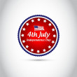 Happy Independence Day vintage background — Stock Photo