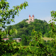 Calvary in Banska Stiavnica — Stock Photo