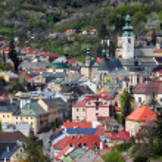 Banska Stiavnica historical mining town Slovakia — Stock Photo #11315186