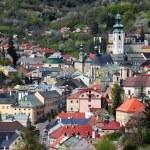 Banska Stiavnica historical mining town Slovakia — Stock Photo
