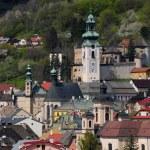 Banska Stiavnica historical mining town Slovakia — Stock Photo #11315293
