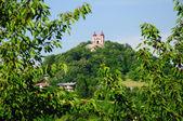 Calvary in Banska Stiavnica — Stock Photo