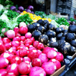 Fresh organic vegetables on market — Foto Stock