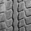 Close up old tire texture — Stock Photo