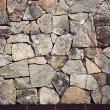 Background of stone wall texture,Vintage style - Stock Photo