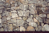 Background of stone wall texture,Vintage style — Stock Photo
