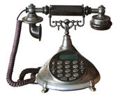 回転式のダイヤルを持つ古い、telephon — ストック写真