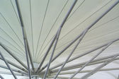 White roofs of tent — Stock Photo