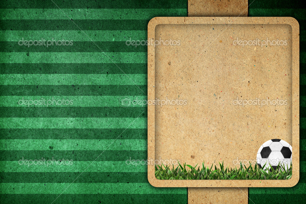 Old paper background football 2012  Stock Photo #10975381