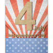 The fourth of july independence day — Stock Photo #10990247