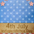 The fourth of july independence day — 图库照片