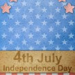 图库照片: The fourth of july independence day