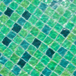 Stock Photo: Background of rippled pattern of clewater in swimming pool