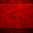 Red paint wall background or texture — Stock Photo