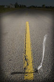 Fork in the Road — Stock Photo