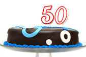 Fiftieth Birthday Celebration — Stock Photo