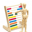 Using an Abacus — Stock Photo #12053200